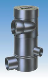 Wisy WFF 150 medium capacity self-cleaning vortex fine filter