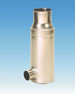 Wisy self-cleaning downspout filter collector FS 0304